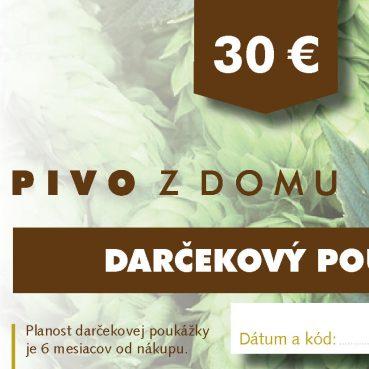 PIVO Z DOMU darcekove poukazy 14x7 cm2 30 (1)