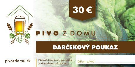 PIVO Z DOMU darcekove poukazy 14×7 cm2 30 (1)