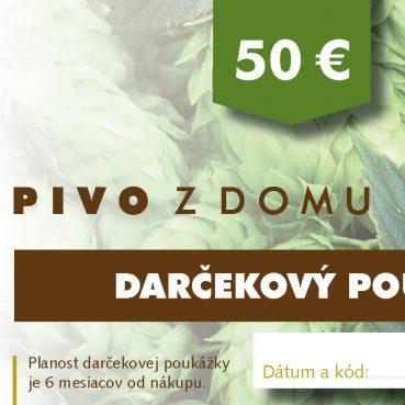 PIVO Z DOMU darcekove poukazy 14x7 cm3 50 (1)