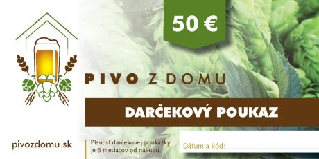 PIVO Z DOMU darcekove poukazy 14×7 cm3 50 (1)