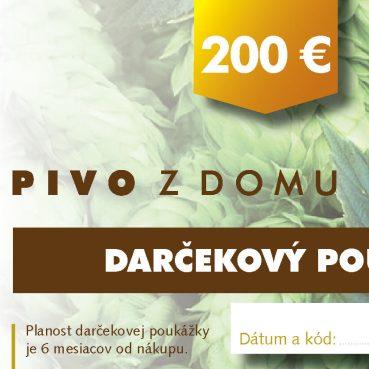 PIVO Z DOMU darcekove poukazy 14x7 cm5 200 (1)